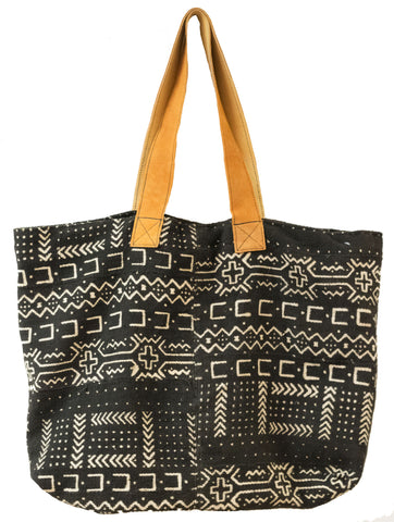 Mali Mudcloth Tote Bag | Worldwide Textiles