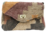 Kilim Carpet Side Satchel | Worldwide Textiles
