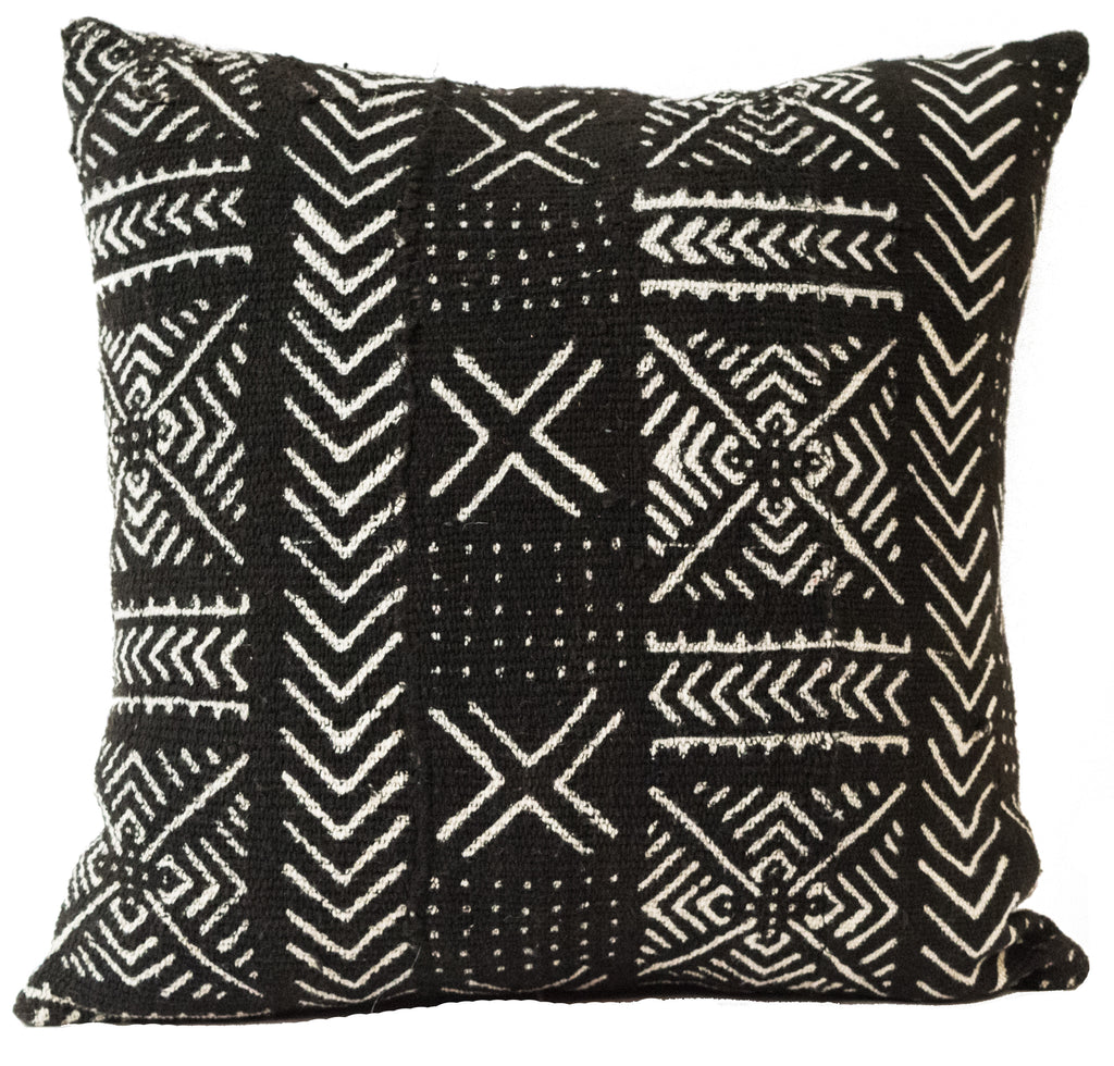 Mali Mudcloth Pillow | Worldwide Textiles
