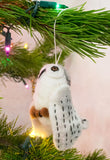Nepalese Felt Owl Christmas Ornament | Worldwide Textiles