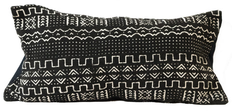 Mali Mudcloth Lumbar Pillowcase