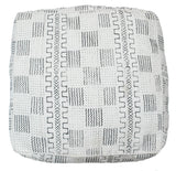 Mali Mudcloth Floor Pouf | Worldwide Textiles