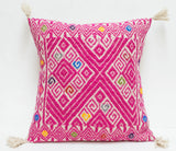 Mexican Textile Pillow Cover