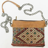Moroccan Kilim Cross Body Satchel Purse | Worldwide Textiles