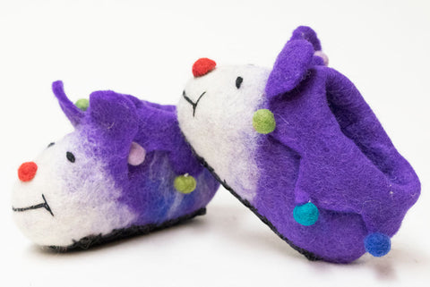 Handmade Felt Baby Shoes | Worldwide Textiles