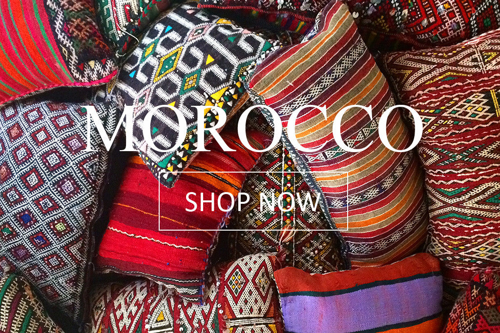 Moroccan Kilim Pillows