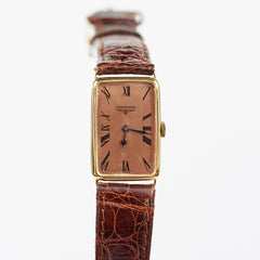 Longines 18 KT Rose Gold with Original pink Champagne Dial