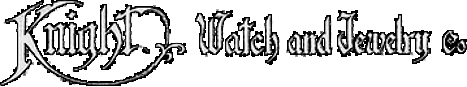 The Knight Watch and Jewelry Co. Logo