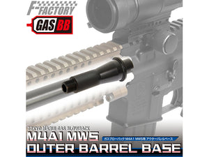 Nine Ball Outer Barrel Base For Marui MWS GBBR