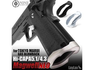 Nine Ball NEO Magwell For Marui Hi-Capa 5.1/4.3 (Silver)