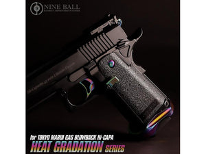 Nine Ball Custom Magazine Catch for Marui Hi-Capa 5.1 (Rainbow)