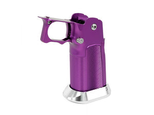 "EDGE Custom ""MET"" Aluminum Grip for Hi-CAPA (Purple)"
