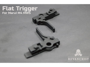 Revanchist Flat Trigger For Marui M4 MWS