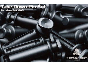 Revanchist Aluminium Take Down Pin Set For Marui M4 MWS (Set of 2PCs)