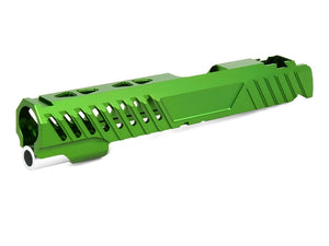 "EDGE Custom ""RAZOR"" Aluminum Standard Slide for Hi-CAPA/1911 (Green)"