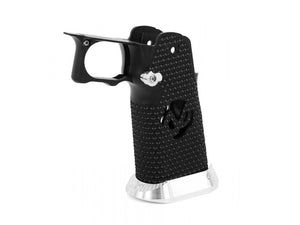 Airsoft Masterpiece Aluminum Grip for Hi-CAPA Type 17 (Infinity 172 Hollow) Black