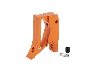 "EDGE Custom ""T2"" Aluminum Trigger for Hi-CAPA/1911 (Orange)"