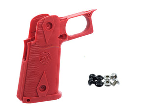 5KU STI Custom Grip For Marui Hi-Capa (Red)