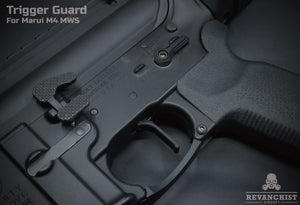 Revanchist Airsoft Trigger Guard For Marui M4 MWS
