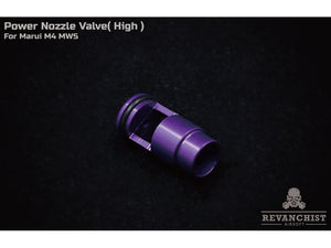 Revanchist Airsoft Nozzle Valve For Marui M4 MWS (High Power)