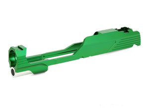 "EDGE Custom ""MEGA"" Aluminum Standard Slide for Hi-CAPA/1911 (Green)"