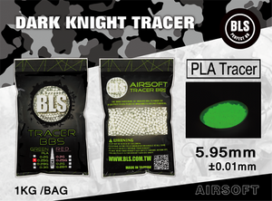 BLS 0.25G Tracer BBs (4000Rounds, Bag) - Green