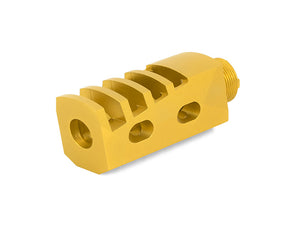 "Airsoft Masterpiece 2"" Compensator Type 9 - Gold"