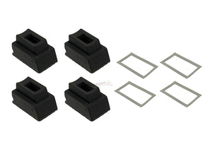 GunsModify Extreme Custom Magazine Gas Buck 60° #3 For Marui/GM G-Series (4PCS)