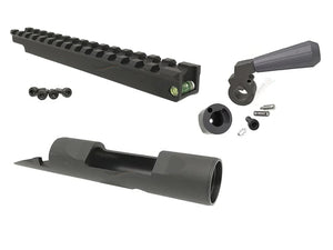 Maple Leaf Scope Rail Mount / Enlarge Bolt Handle / Body Receiver Combo Set For For TM VSR-10 Series / FN SPR A5M