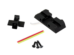 MITA Fiber Optic Standard Sight Set For SIG Sauer M17 GBB
