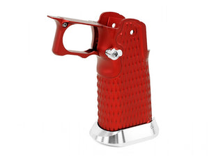 Airsoft Masterpiece Aluminum Grip for Hi-CAPA Type 9 (Red)