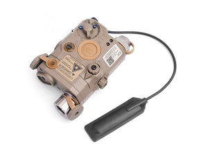 PEQ-15 LED White Light + Green Laser With IR Lenses UHP Version (Black/FDE)