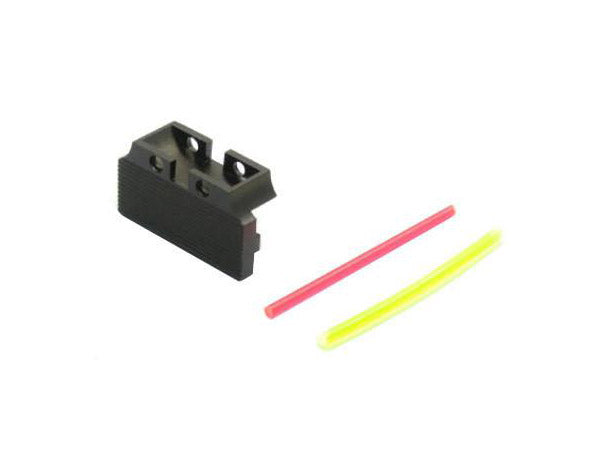 UAC Fiber Optic Rear Sight Back Plate For TM Hi-capa