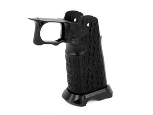 Airsoft Masterpiece Aluminum Grip for Hi-CAPA Type 20 (STAC Style) Black