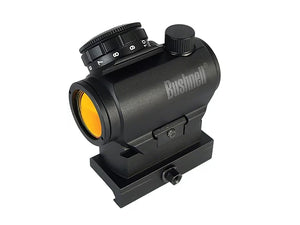 Bushnell AR Optics TRS-25 Hirise 1x 25mm Red Dot Riflescope with Riser Block, Matte Black