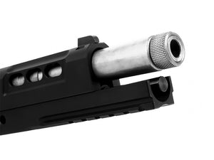 Airsoft Masterpiece STEEL Fix Outer Barrel with Threads for Hi-CAPA 5.1 - Silver
