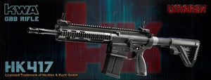 Umarex (KWA) HK417 Gas BlowBack Rilfe