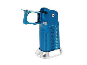 "EDGE Custom ""MET"" Aluminum Grip for Hi-CAPA (Blue)"