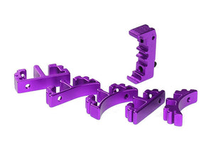 Airsoft Masterpiece Aluminum SV Puzzle Trigger Ring - Enoz Purple