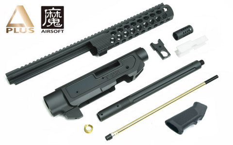 A+ T22 Aluminum CNC Kits for KJ KC02 (Black)