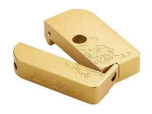 AIP CNC Limcat Puzzle Magazine Base for Marui Hicapa (Gold/Slim)