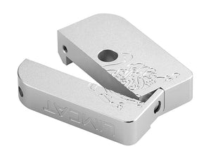 AIP CNC Limcat Puzzle Magazine Base for Marui Hicapa (Silver/Slim)