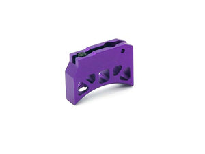 AIP Aluminum Trigger (Type J) for Marui Hi-capa (Purple/Long)