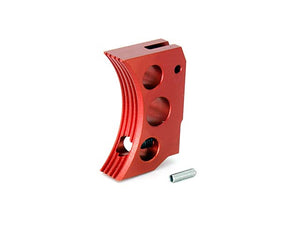 AIP Aluminum Trigger (Type F) for Marui Hi-capa (Red/Short)