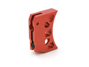 AIP Aluminum Trigger (Type J) for Marui Hi-capa (Red/Long)