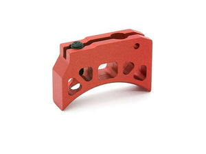 AIP Aluminum Trigger (Type K) for Marui Hi-capa (Red/Short)