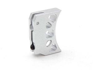 AIP Aluminum Trigger (Type J) for Marui Hi-capa (Silver/Long)