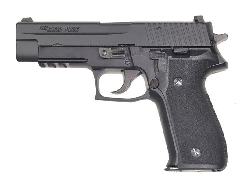 APLUS CUSTOM P226R Full Metal GBB Pistol (System7, Cerakote Black-Full Marking New Ver.)