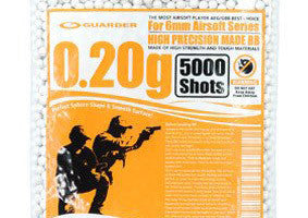 Guarder High Precision Made - 0.20g BB Pellets (5000 rounds, Bag)