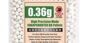 Guarder High Precision Made - 0.36g BB Pellets (1000 rounds, Bag)